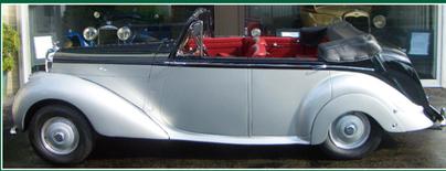 BENTLEY Bentley Mark VI 4tu¿r.