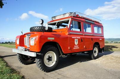 LAND ROVER Serie III Feuerwehrfahrzeug