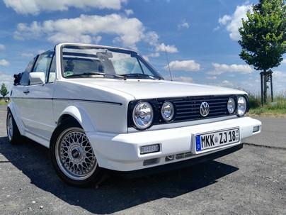 VW Golf 1 Cabrio 1.6 KARMAN/BBS/LEDER/SERVO