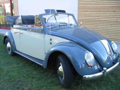 VW Käfer Winker-Cabriolet von 1959